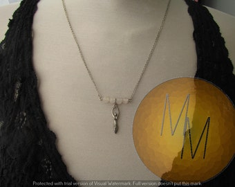 Divine Feminine Goddess Necklace (Quartz)