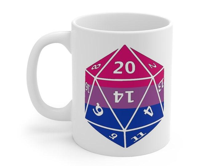 BISEXUAL d20 Mug