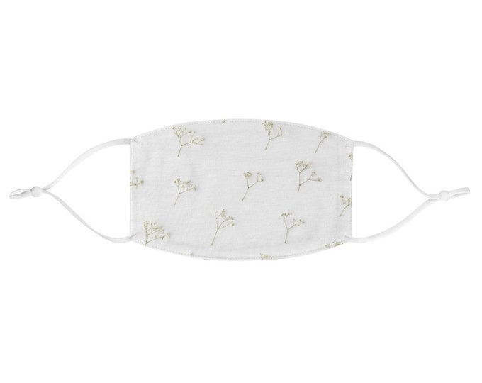 Fabric Face Mask - Baby's Breath