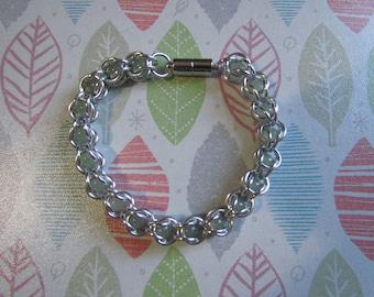 Green Aventurine Captive Bead Bracelet