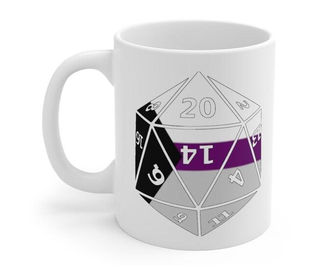 DEMISEXUAL d20 Mug