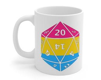 PANSEXUAL d20 Mug