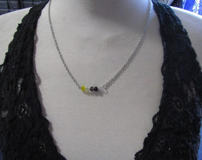 Beaded Pride Necklace NONBINARY