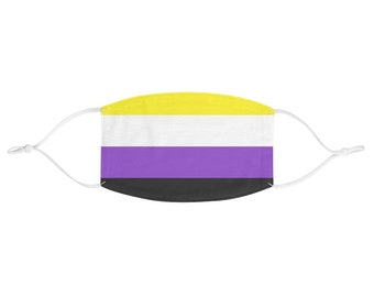 PRIDE FLAG Face Mask - Nonbinary
