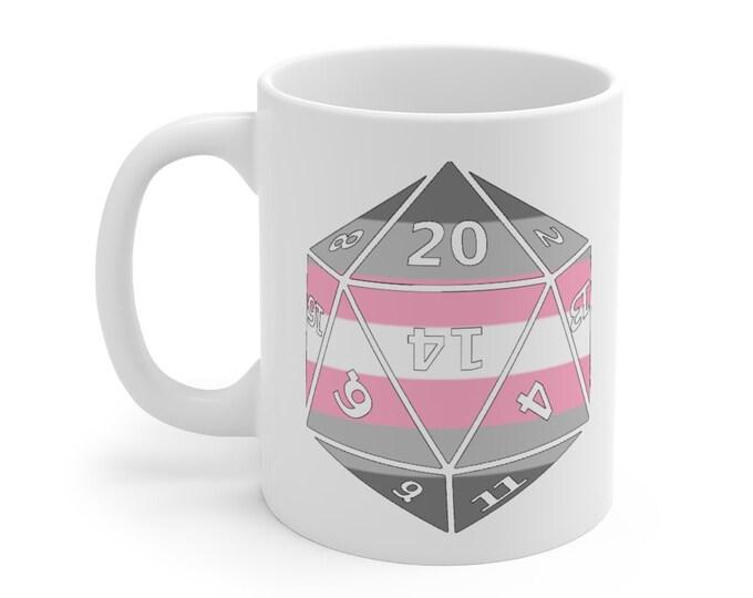 DEMIGIRL d20 Mug