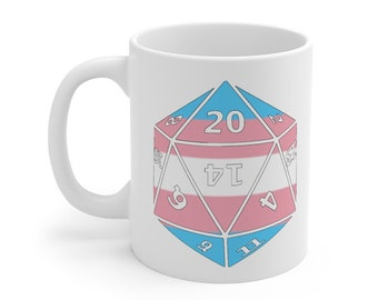 TRANSGENDER d20 Mug