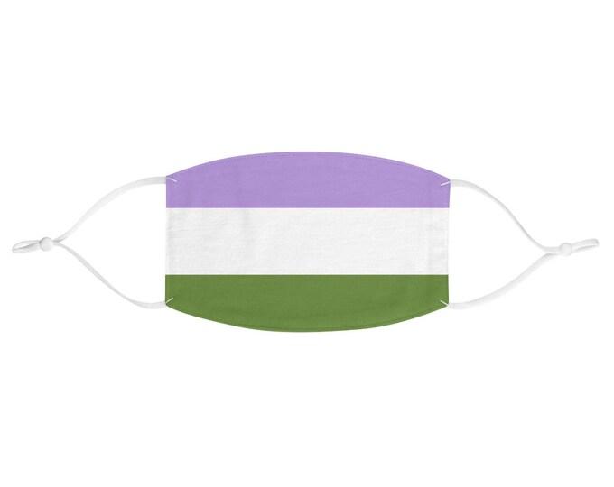 PRIDE FLAG Face Mask - Genderqueer
