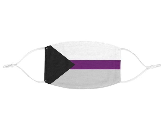 PRIDE FLAG Face Mask - Demisexual