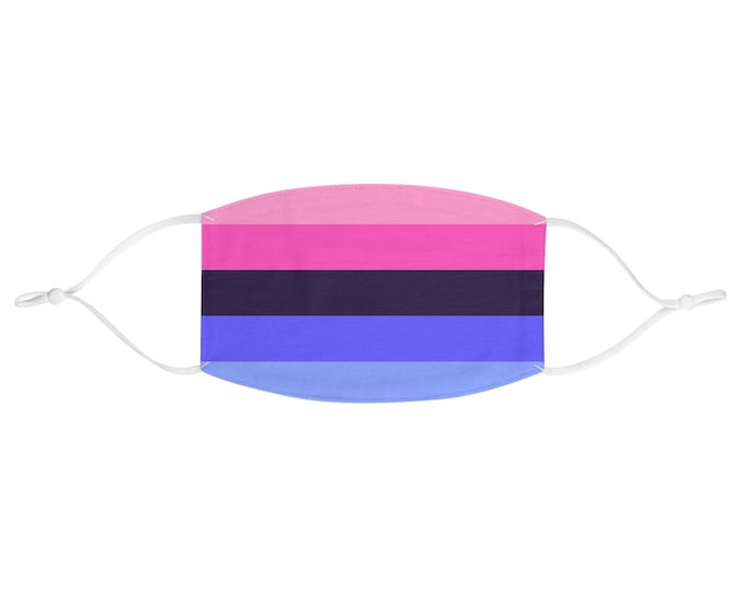 PRIDE FLAG Face Mask - Omnisexual