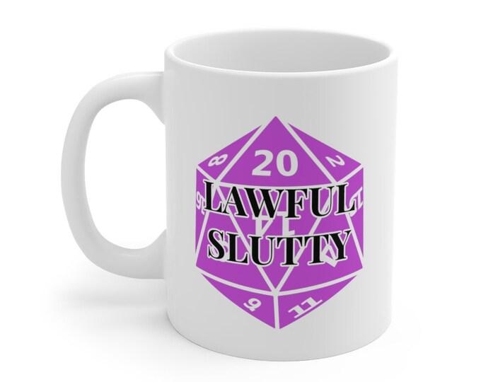 LAWFUL SLUTTY Mug