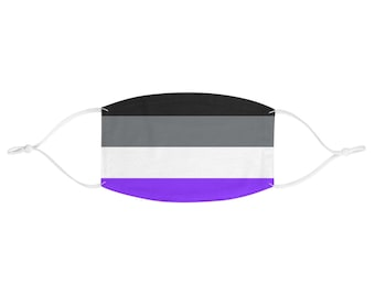 PRIDE FLAG Face Mask - Asexual