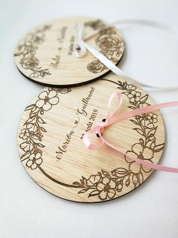Ring Bearer Ornate Wood Support Wedding Rings