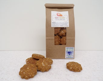 Apple Cheddar Treats for Salty Dogs