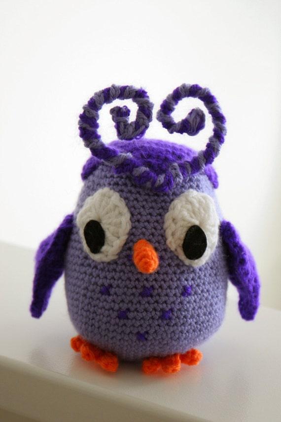 Häkeln Sie Odus Owl PDF-Muster Amigurumi von Candy Crush | Etsy