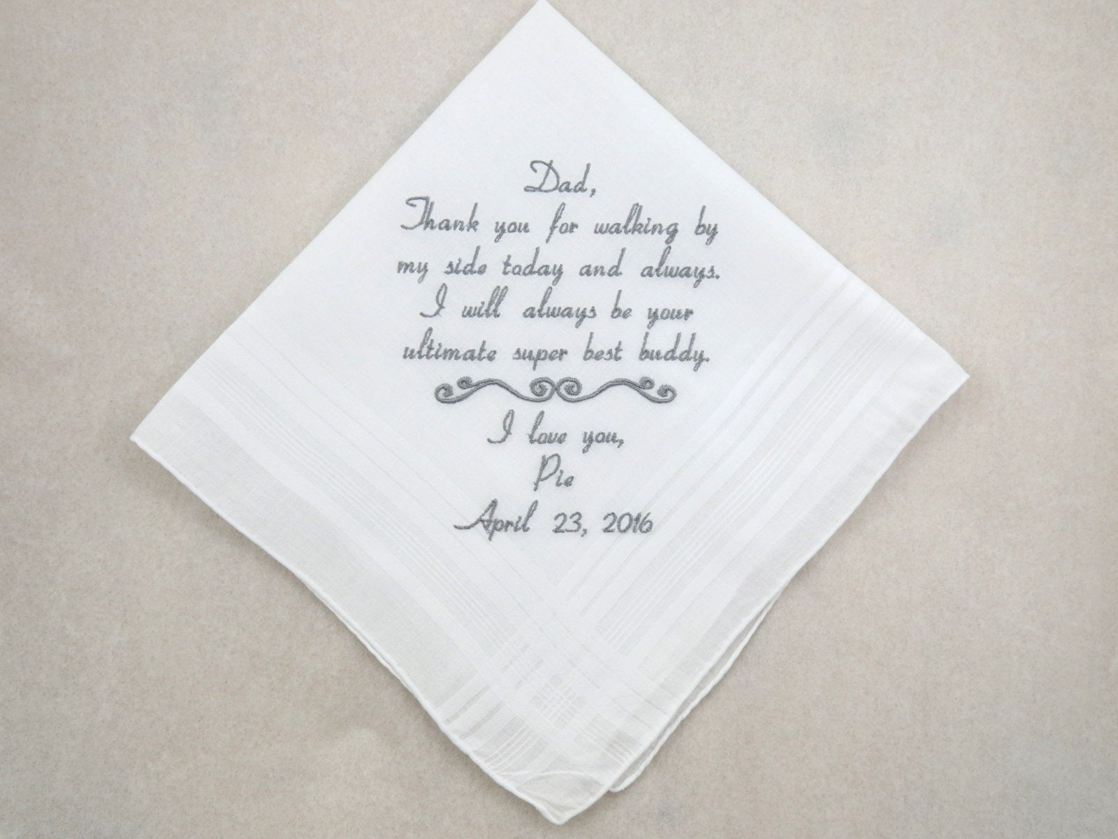 Father Daughter Wedding Gifts: Wedding Gift For Dad From Daughter Father Of The Bride