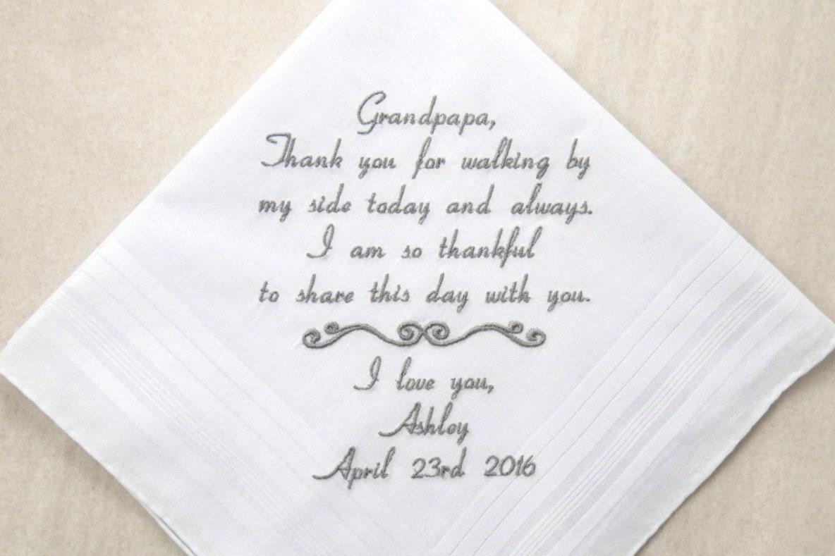 Grandmother Wedding Gift: Grandfather Of The Bride Gift Grandpa Of The Bride Gift