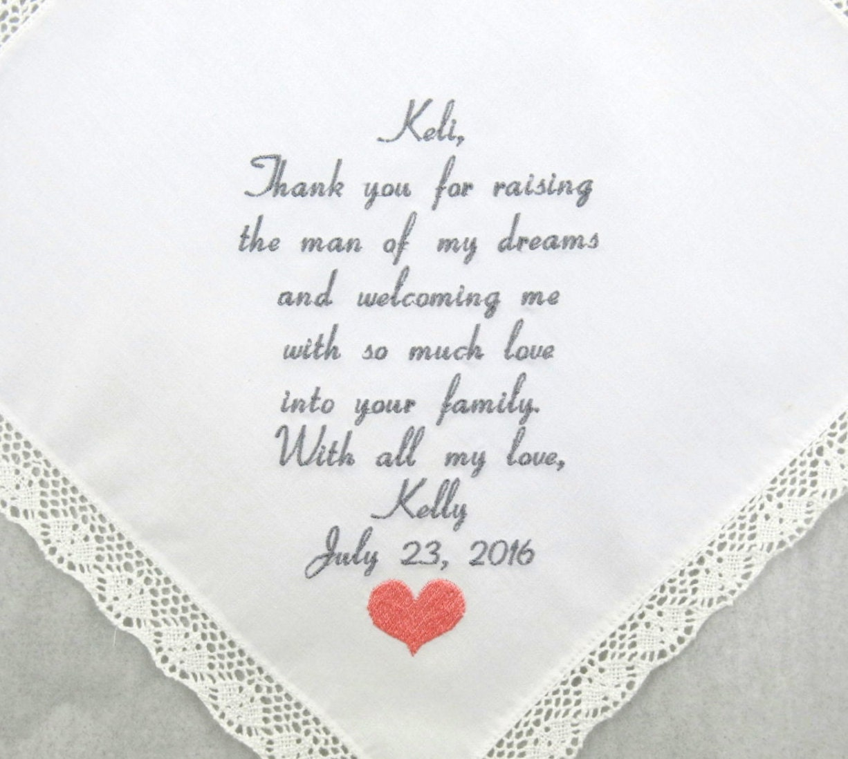 Mother Of The Groom Gift Mother In Law Wedding Gift Etsy