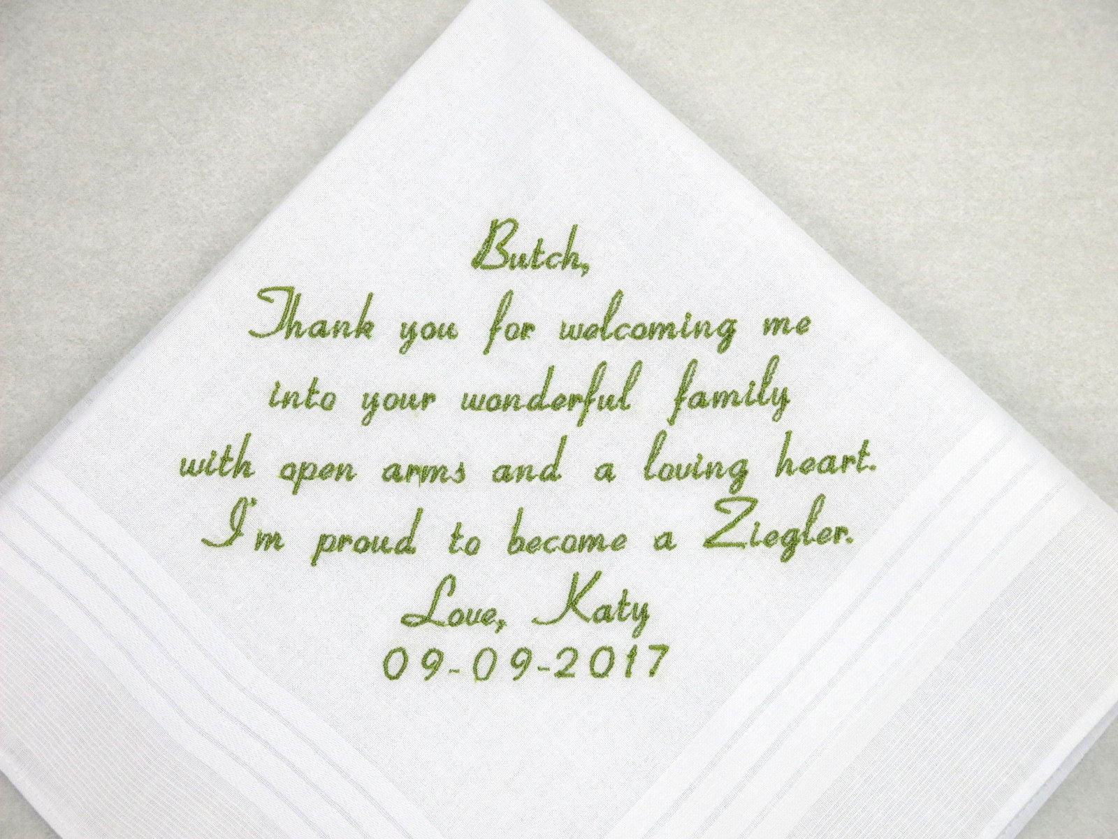 227dc8f326 Father in law Gift Father of the Groom Gift Embroidered Personalized ...