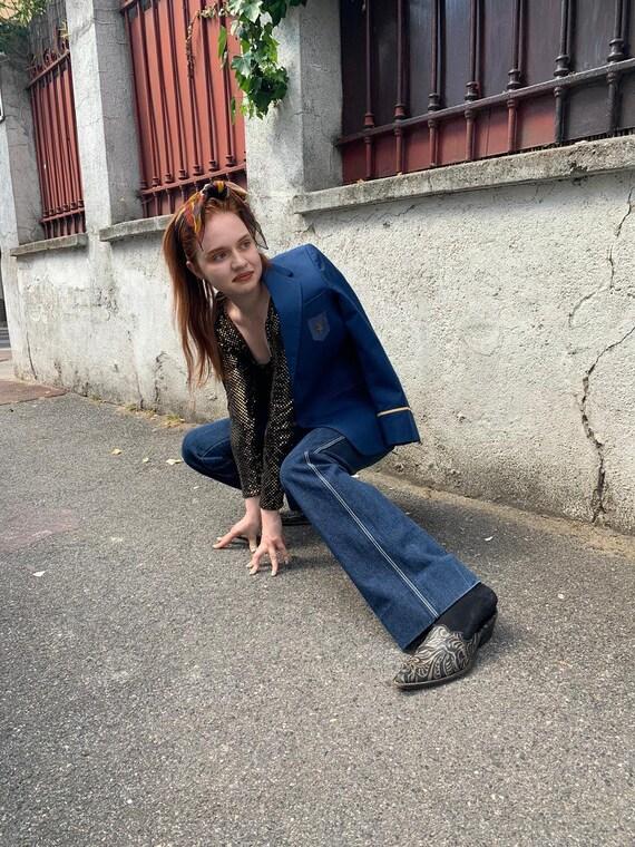 Jordache blue straight jeans