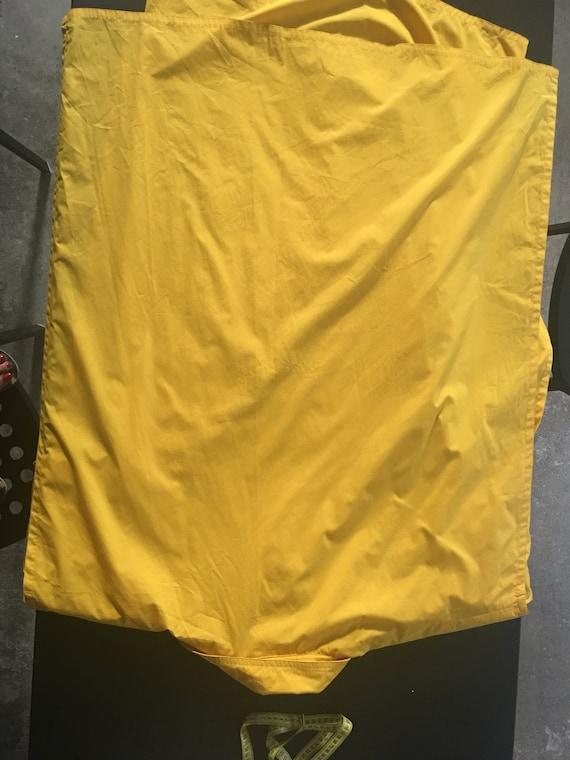 Jungle Jap (Kenzo 70s brand)  Yellow Cotten doubl… - image 8