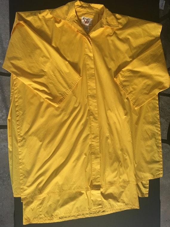 Jungle Jap (Kenzo 70s brand)  Yellow Cotten doubl… - image 7