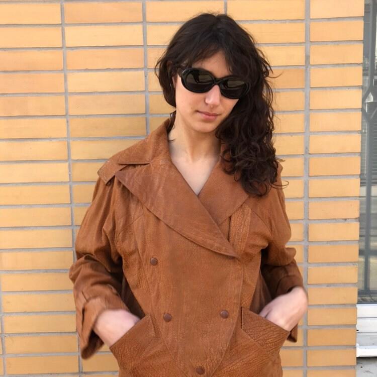 VENTA Sonia Rykiel gafas de sol ovaladas negras Made in France