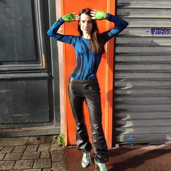 Jitrois Paris Black Leather Pants
