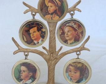 Vintage Metal Photo Tree in Original Box - Dan-Dee Imports, N.Y.C.