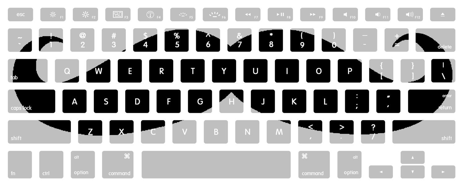 It's just an image of Wild Printable Keyboard Stickers