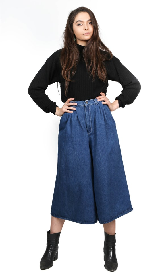 1970's Lord Issacs Denim Gauchos