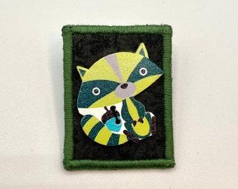 A Christmas Bandit Button Pin