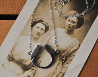 Sterling Love Bird Necklace