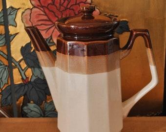 1970s Stoneware Tea Pot
