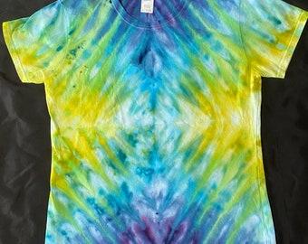 Tie Dye T- shirt- adult Large