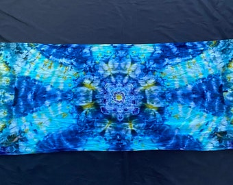 """Tie Dyed Rayon Scarf 21"""" x 72"""""""