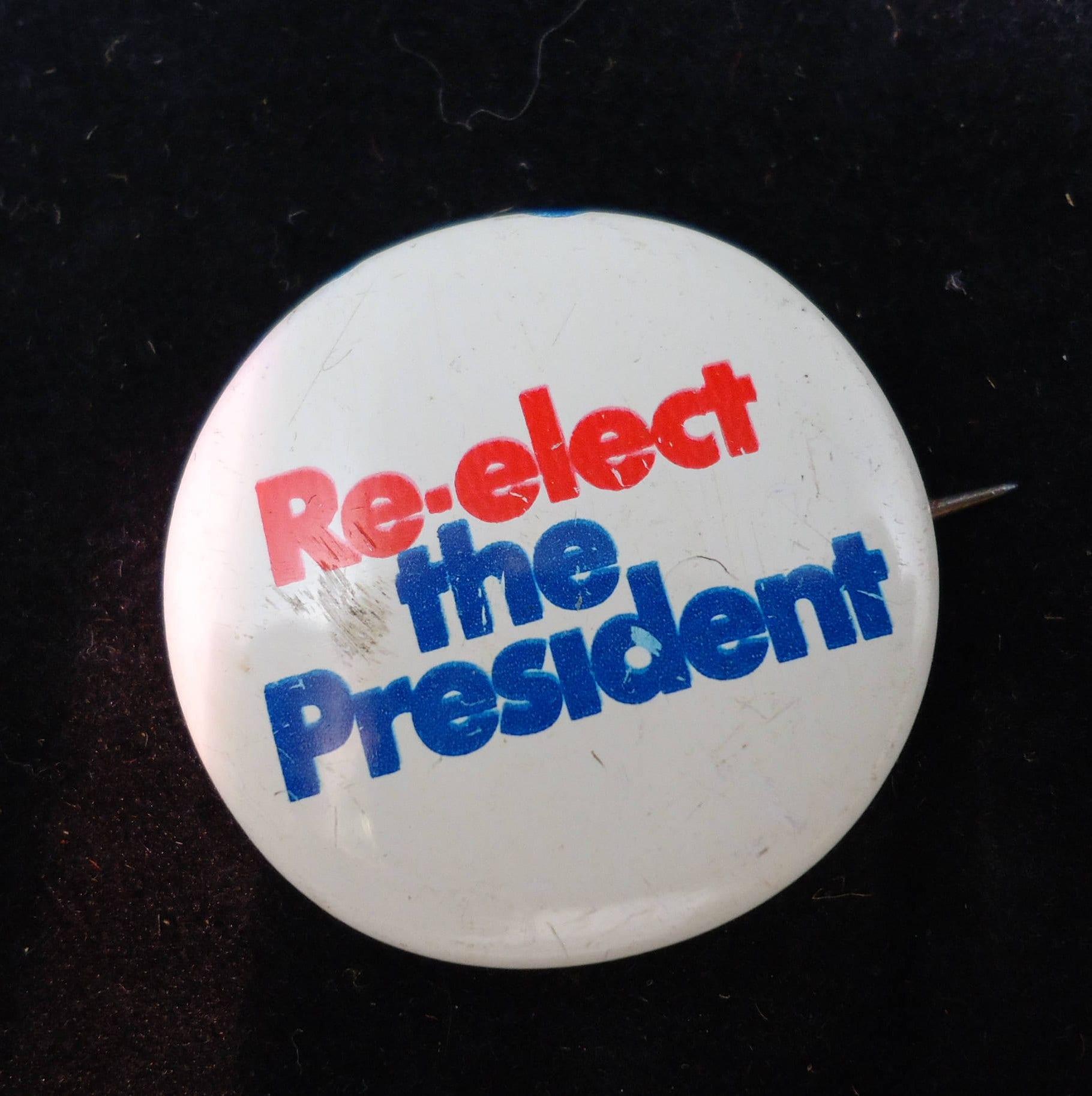 Rare Nixon Pins: Vintage Political Campaign Buttons Nixon Collectibles Red