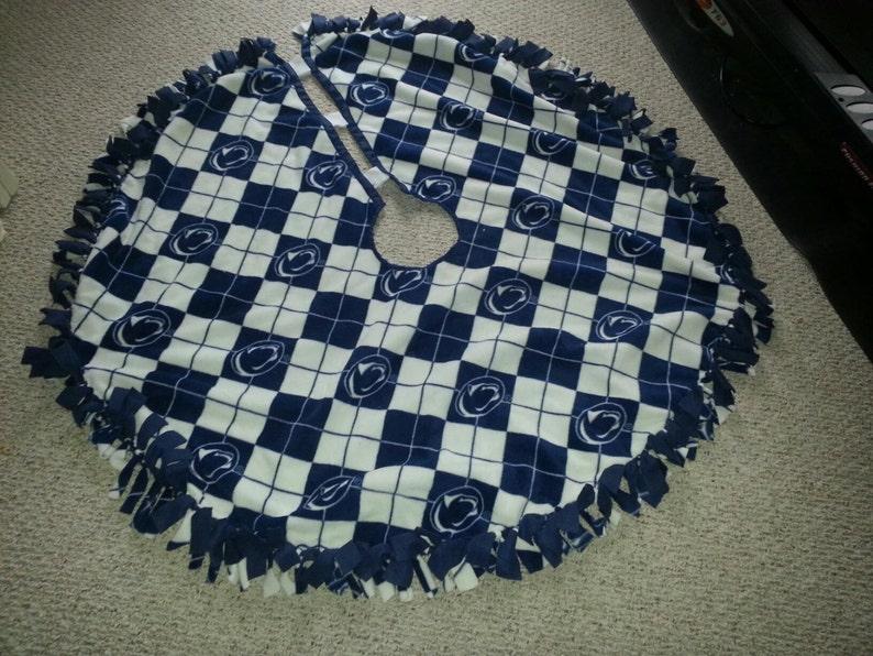 Penn State fleece tree skirt