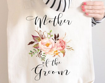 Mother Of The Groom Tote Bag,  Mother Of the Groom bag, Mother Of the Groom gift,  Blush Mother Of The Groom Bag, Wedding Parents Gift