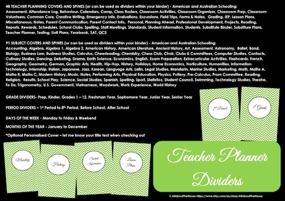 LIGHT BLUE EDITABLE Teacher Planner Printable School Homeschool Lesson  Planner Class Organization 2017 18 Teaching Homework Calendar Diary