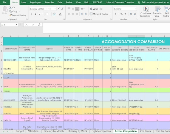 Excel Template Travel Itinerary from i.etsystatic.com