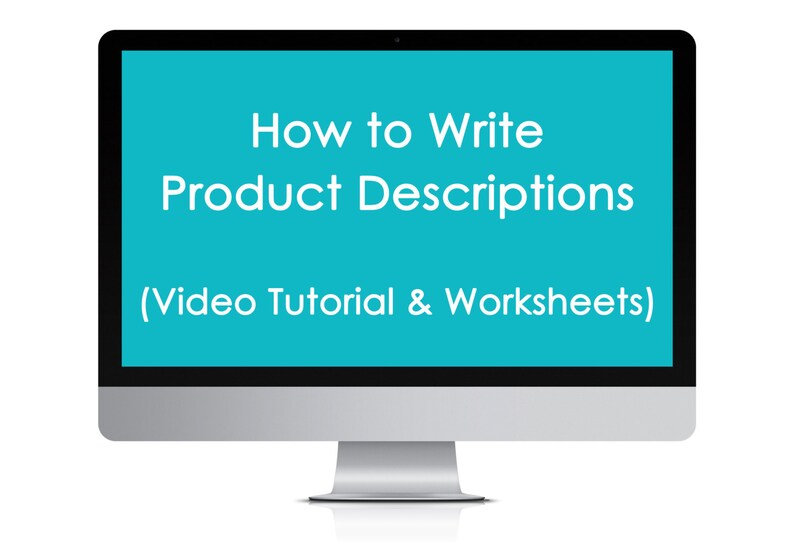 How to write product descriptions listing Etsy Shop Business image 0