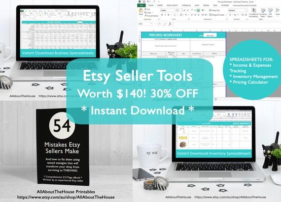 b2c03c4d75974 Business spreadsheets tool ebook Etsypreneur bundle Etsy Success ...
