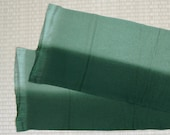 olive and dark green silk...