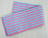 Pastel pink blue striped ...