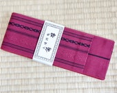 Red mens obi belt, Japane...