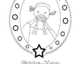Coloring book Gros-Nez !
