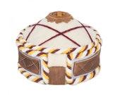 Felt Mongolian Kazakh Yurt Ger Felt Ornament Nomadic felted mini yurt