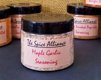 Maple Garlic Seasoning - 4 Ounce Jar