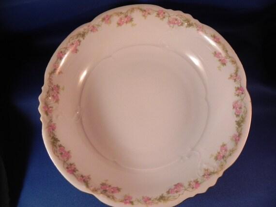 Vintage Habsburg China Oval Berry Bowl Mz Austria Hab1 Etsy