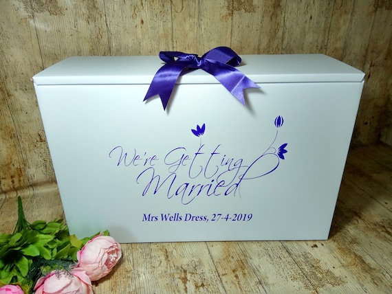 Wedding Dress Box With Packing Instructions2 Metres Of Etsy
